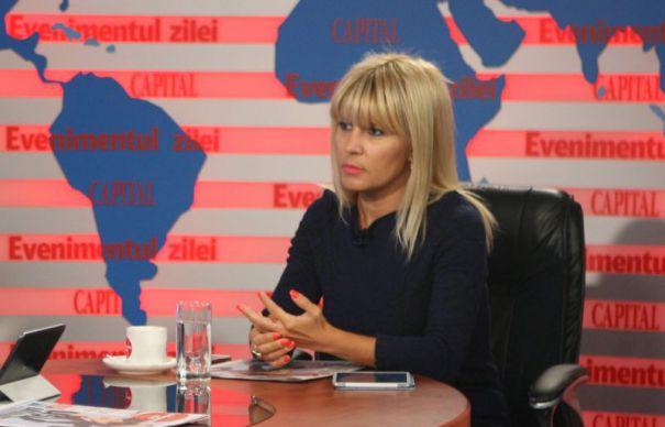 Elena Udrea: E mai important ca Iohannis a fost sustinut de Voiculescu decat ca a intrat sau nu in sediul Grivco