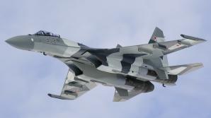 Patriarhul Bisericii Ortodoxe a Rusiei a primit cadou un avion de lupta SU-35