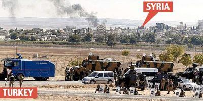 Statul Islamic a inceput sa se retraga din Kobane, orasul sirian de la granita cu Turcia