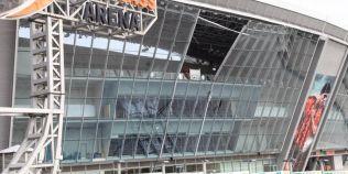 VIDEO Arena lui Sahtior Donetk, bombardata: