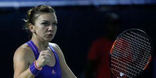 Simona Halep s-a calificat in sferturile de finala de la Dubai, dupa ce a invins-o pe jucatoarea bulgara Tvetana Pironkova