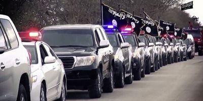 VIDEO Parada a masinilor Statului Islamic, in orasul libian Benghazi