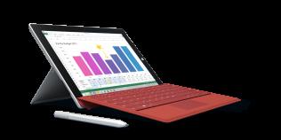 O tableta care promite autonomie si caracteristici de laptop: Microsoft Surface 3
