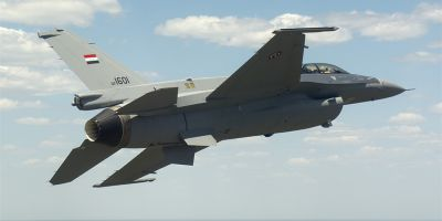 Un avion de lupta de tip F-16 apartinand Irakului s-a prabusit in timpul unui antrenament in Arizona