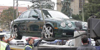 Niciun autoturism parcat ilegal nu va mai putea fi ridicat de hingherii de masini. Decizia, publicata in Monitorul Oficial