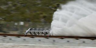VIDEO In Las Vegas, trenul ultra rapid ce va atinge 1000 de km pe ora a trecut cu succes testele
