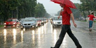 Cod galben de ploi, vijelii si grindina de marti pana miercuri seara. Ce zone sunt vizate