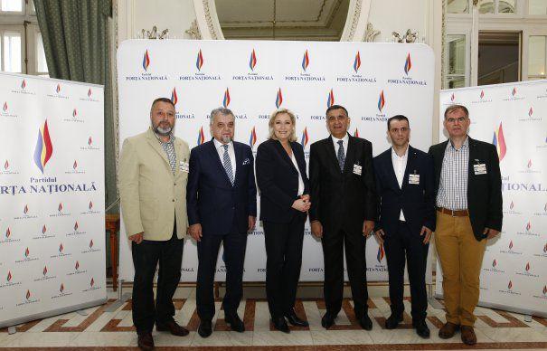 MARINE LE PEN ARE PARTID IN ROMANIA. Extremistii nostri se reorienteaza