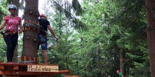 Parc de aventura, deschis in zona Ranca de un fost salvamontist