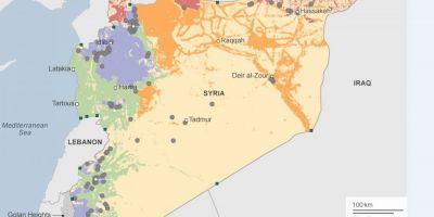 Sicane in Siria. Un avion de lupta rusesc s-a apropiat periculos de mult de un avion american