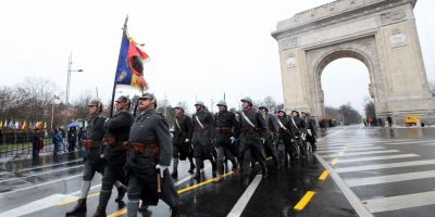 Restrictii de trafic in Capitala pentru parada militara de Ziua Nationala, de miercuri dimineata pana joi dupa-amiaza