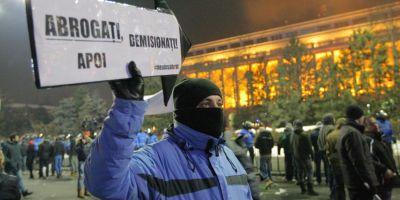 Dosarul violentelor de la protestele din Piata Victoriei: Peste 20 de persoane au fost audiate, 8 fiind retinute