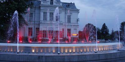 Romania lucrului prost facut. Fantana muzicala de 1,4 milioane euro care canta doar in weekend.