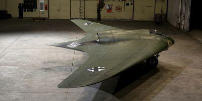 VIDEO Cum arata avionul lui Hitler, conceput pentru a schimba cursul celui de-al Doilea Razboi Mondial si care a inspirat bombardierul invizibil B-21