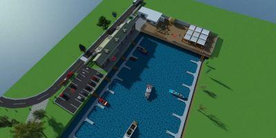 FOTO Concesiunea ilegala pentru un port de un milion de euro la Dunare, promis de o firma fara angajati si fara activitate