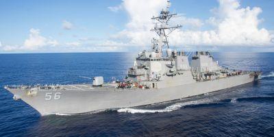 Tensiuni in Marea Chinei de Sud: Armata chineza ii cere repetat unui distrugator american sa paraseasca apele revendicate