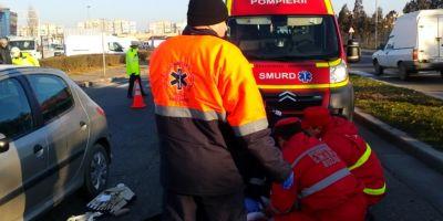Accident teribil la Galati. Doi barbati au fost spulberati de o masina dupa ce au traversat strada prin loc nepermis