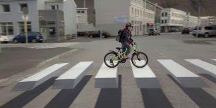 Soferii din Islanda, pacaliti de o iluzie optica pentru a incetini viteza
