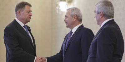 Iohannis raspunde apatic la macelul din Justitie
