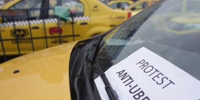 Sofer de la Uber implicat in conflictul cu taximetristii din Timisoara: