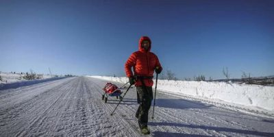 VIDEO Planul nebunesc al lui Tibi Useriu pentru a castiga cursa de la Cercul Polar: