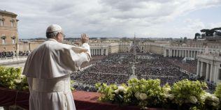 Discursul pentru pace al Papei Francisc cu ocazia Pastelui Catolic