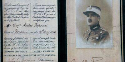 Cine a fost comandantul care a condus campania aeriana pe frontul de la Marasesti din Primul Razboi Mondial.